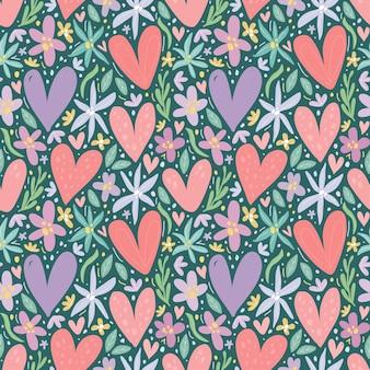 Valentine motyw wzór