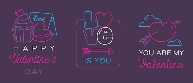 Valentine okolicznościowe odznaki