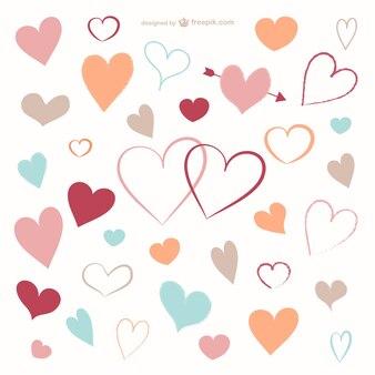 Valentine serca dekoracyjne