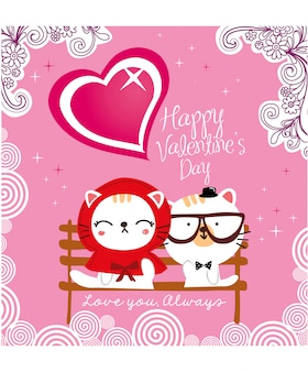 Valentine wektor