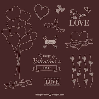 Valentine wypociny ozdoby