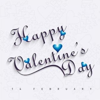 Valentines tła z niebieskim sercem