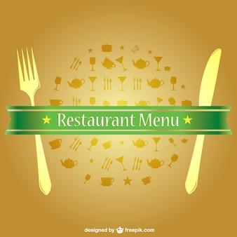Vector jedzenie menu