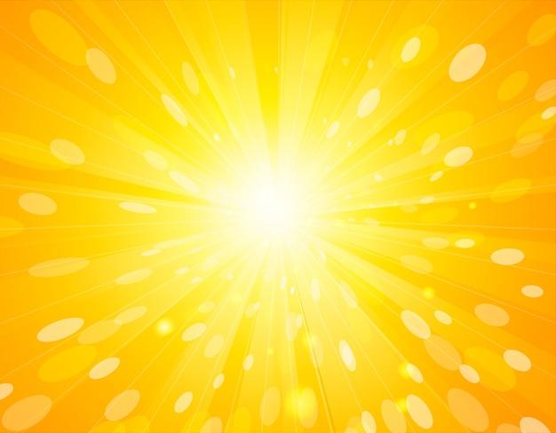 Vector streszczenie sunlight