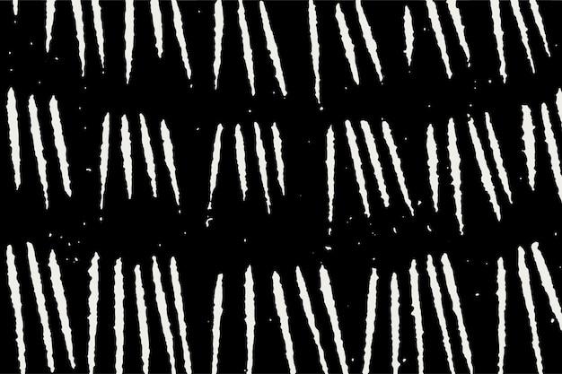 Vintage biały znak zarysowania wzór czarne tło, remiks z dzieł samuela jessuruna de mesquita