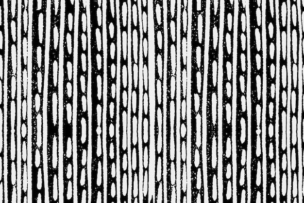 Vintage biały znak zarysowania wzór czarne tło wektor, remiks z dzieł sztuki samuel jessurun de mesquita