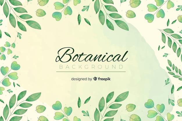 Vintage botaniczny bckground