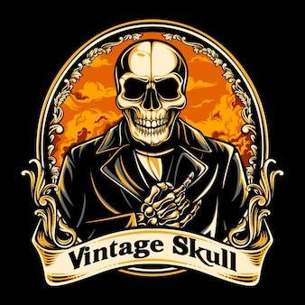 Vintage czaszki