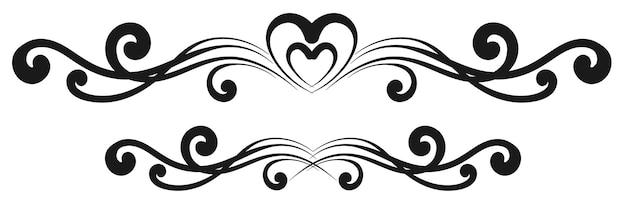 Vintage dekoracyjne obramowania kaligraficzne. oznakowanie szablonów, logo, etykiety, naklejki, karty. klasyczne elementy wystroju na kartki okolicznościowe, dyplomy, certyfikaty i nagrody. projekt graficzny strony.