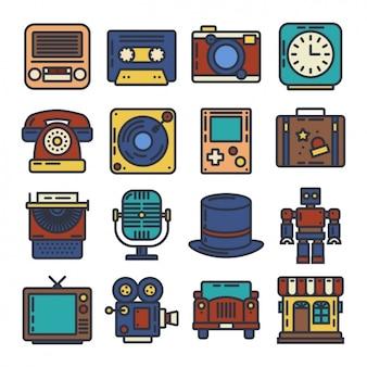 Vintage elementy projektowania