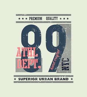Vintage ilustracji typografii