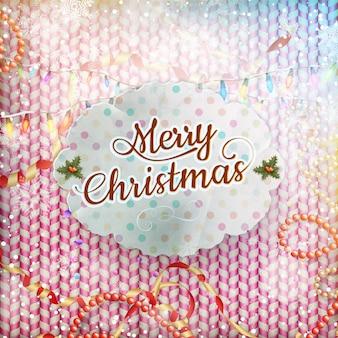 Vintage kartki świąteczne.