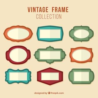 Vintage kolekcja ramki