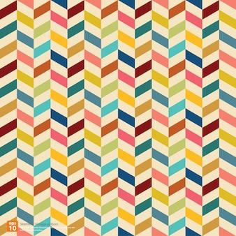 Vintage kolorowy wzór