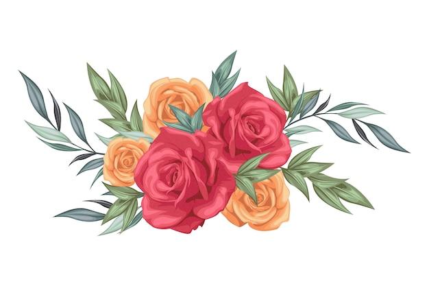 Vintage kwiatowy bukiet