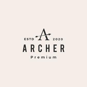 Vintage logo archer zdrowia