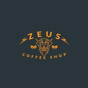 Vintage logo kawy