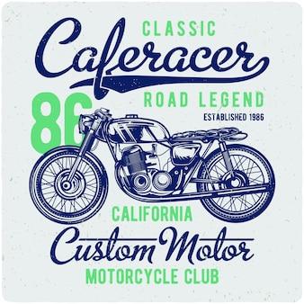 Vintage motocykl