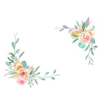 Vintage ozdoby z kwiatów
