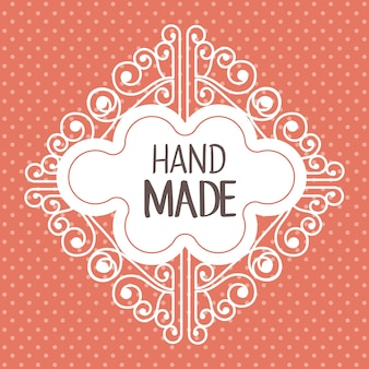 Vintage ręcznie wykonane logotypy i etykiety
