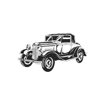 Vintage retro samochodów
