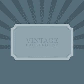 Vintage retro tło z przykładowym tekstem ilustracji wektorowych.