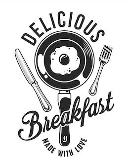 Vintage śniadanie