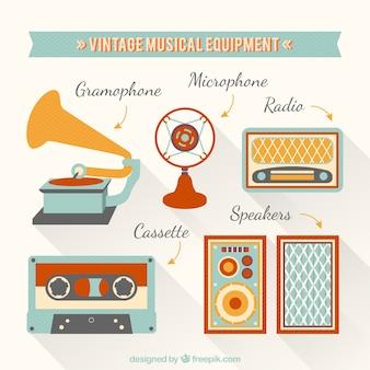 Vintage sprzęt muzyczny