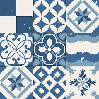 Vintage tło geometryczne