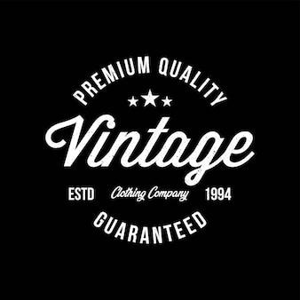 Vintage typografia do nadruku na koszulce. projektowanie mody odzieży.