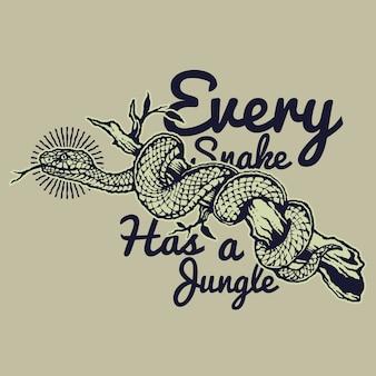 Vintage wąż odznaka