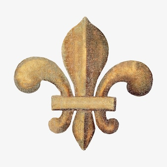 Vintage złota odznaka harcerza
