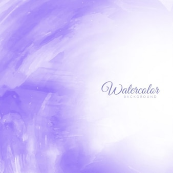 Violet akwarela