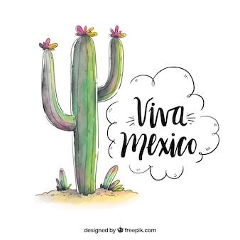 Viva meksyk tło