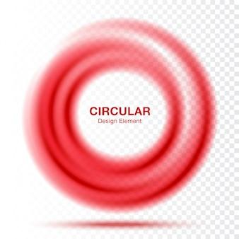 Vortex gradient okrągły okrągły banner. układ prezentacji tekstu. .