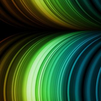 W Pełni Edytowalne Kolorowe Abstrakcyjne Tło, Premium Wektorów