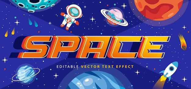 W pełni edytowalny styl efektu tekstowego