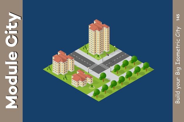 W przypadku map miejskich