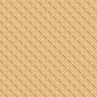 Wafel bez szwu tekstury wzór waflowy