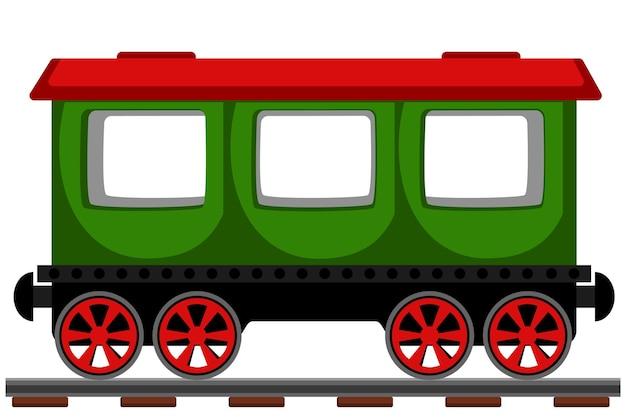 Wagon osobowy na kolei