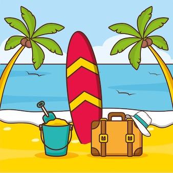 Wakacje na plaży