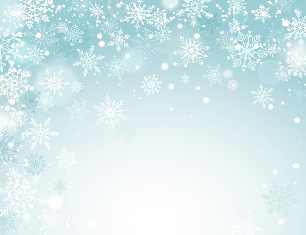 Wakacje zimowe tło