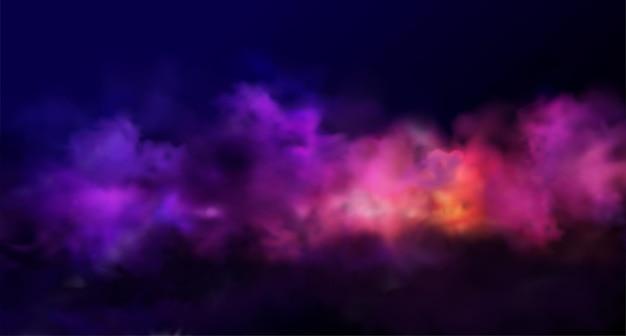 Wakacyjny abstrakcyjny błyszczący kolor proszkowy element projektu chmury