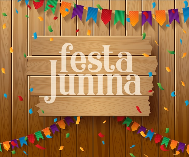Wakacyjny projekt festa junina brazil