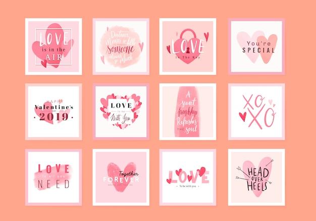 Walentynki 14 lutego wektor