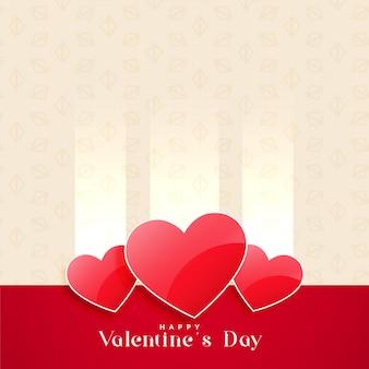 Walentynki błyszczący serca tło