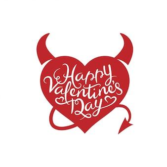 Walentynki-dzień napis tło.