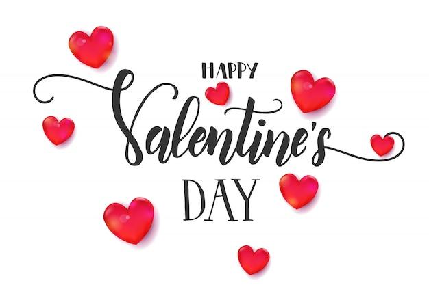 Walentynki-dzień tło z 3d czerwone serce i ramki.