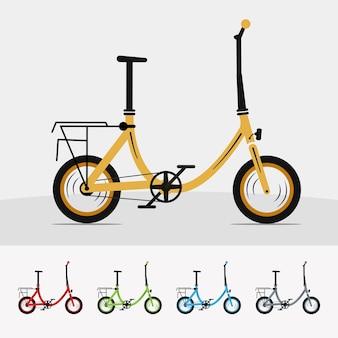 Walentynki ilustracyjny chłopiec na niestandardowym rowerze premium najlepiej odpowiadającym twoim potrzebom