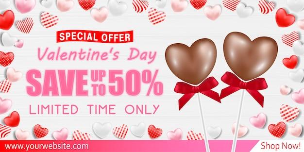 Walentynki kartkę z życzeniami sprzedaż sprzedaż transparent